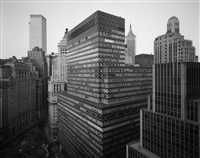 north view from battery plaza, n.y.c. [view of battery plaza, nyc] by nicholas nixon